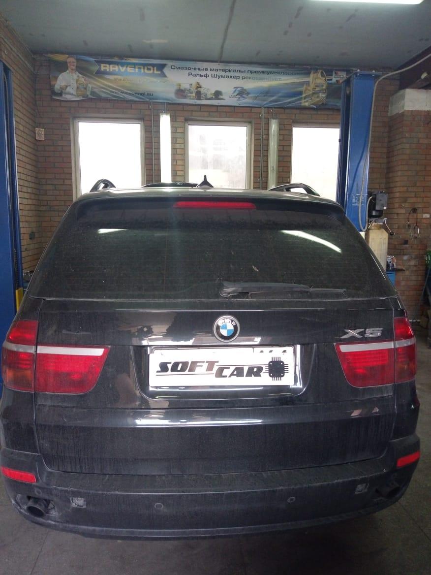 Удаление и программное отключение и сажевого фильтра на BMW X5 E70 3.0d 235л.с. 2010 года