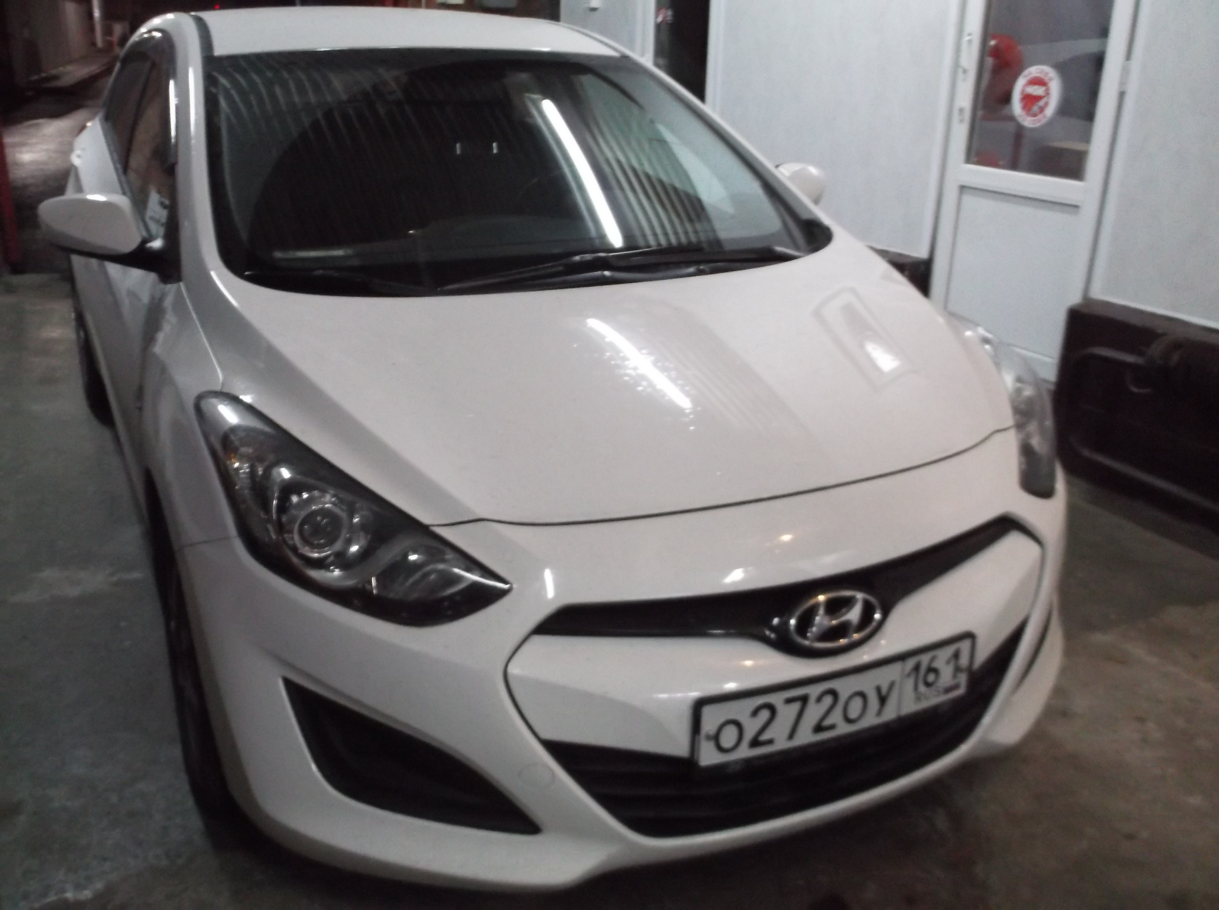 Удаление катализатора Hyundai i30