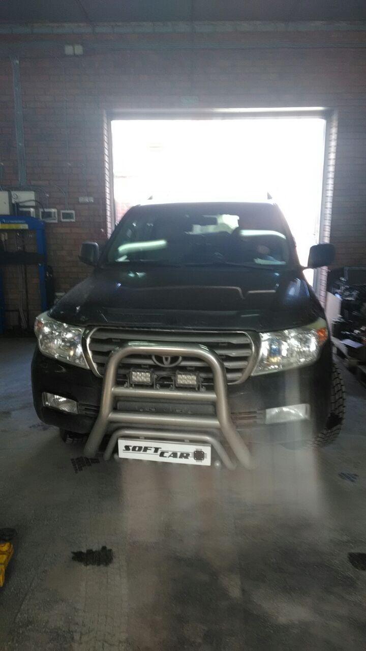 Отключение  ЕГР на Toyota Land Cruiser 200