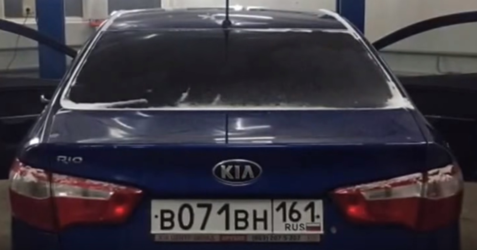 Чип тюнинг KIA Rio 1.4 AT в Ростове на Дону.