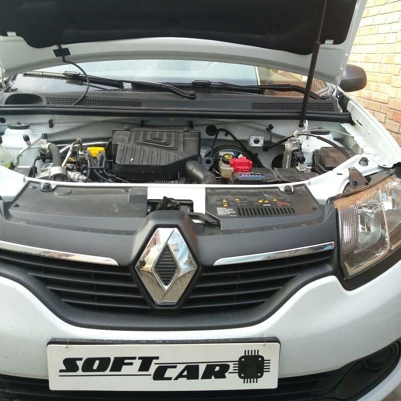 Чип-тюнинг нового Renault Logan II 1.6