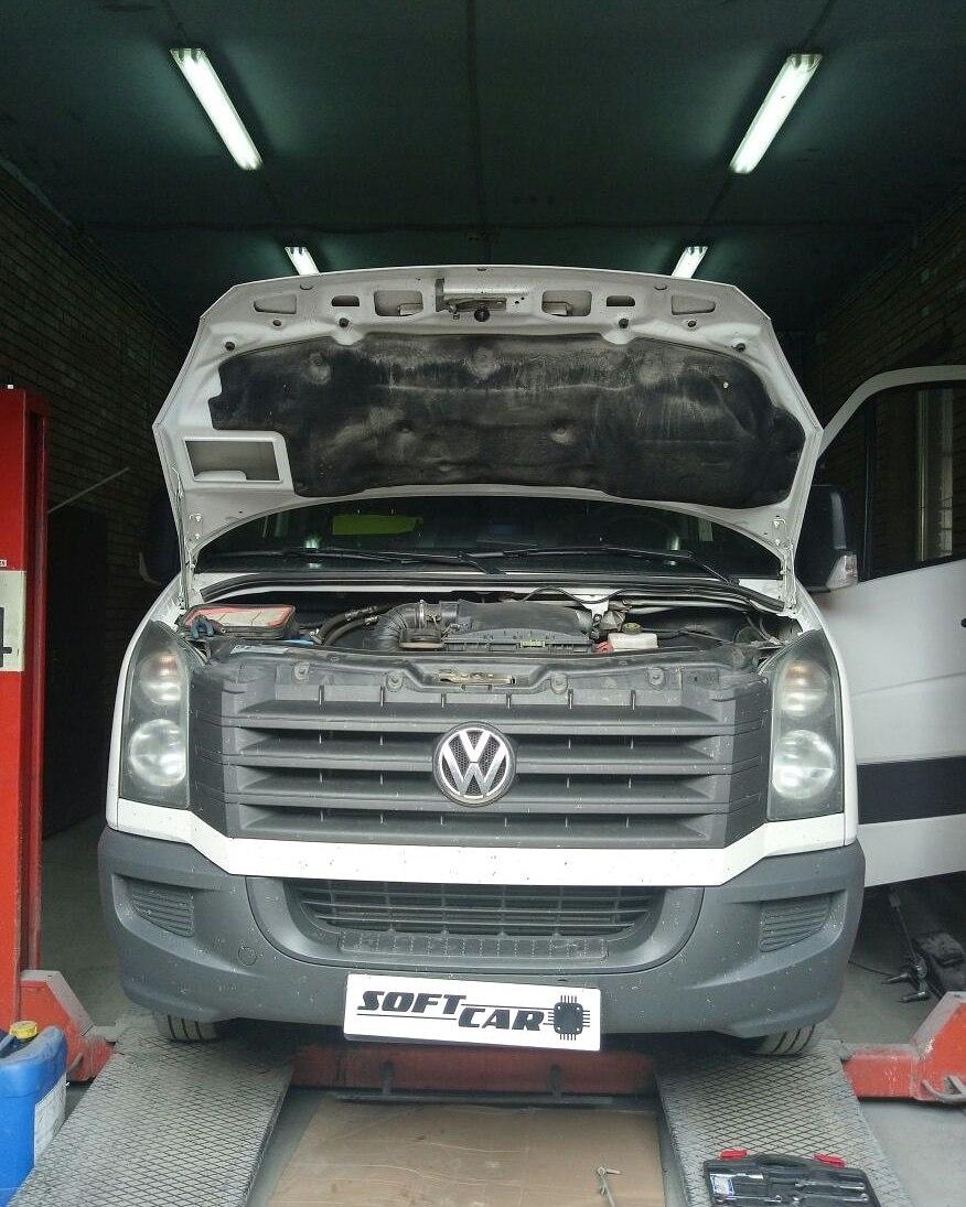 Программное удаление сажевого фильтра и ЕГР на Volkswagen Crafter