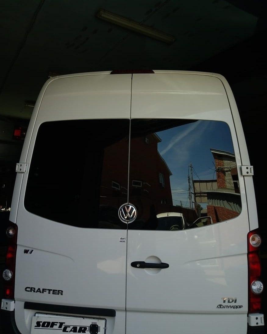 Чип-тюнинг Volkswagen Crafter