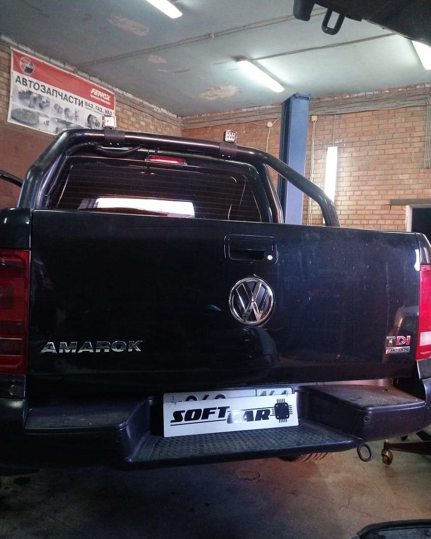 Чип-тюнинг Volkswagen Amarok
