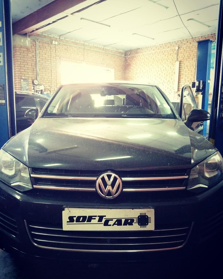 Отключение ЕГР и вихревых заслонок на Volkswagen Touareg